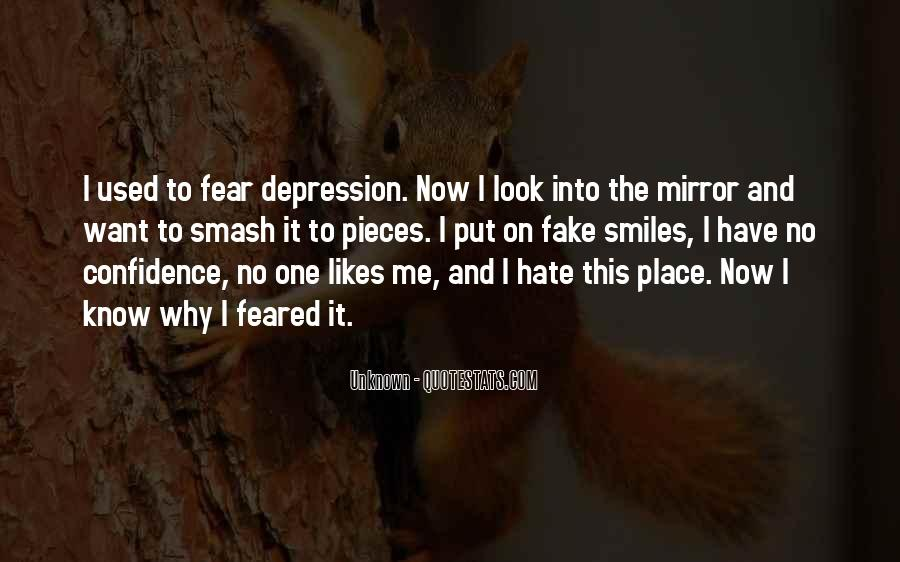 Sometimes I Look In The Mirror Quotes #112445