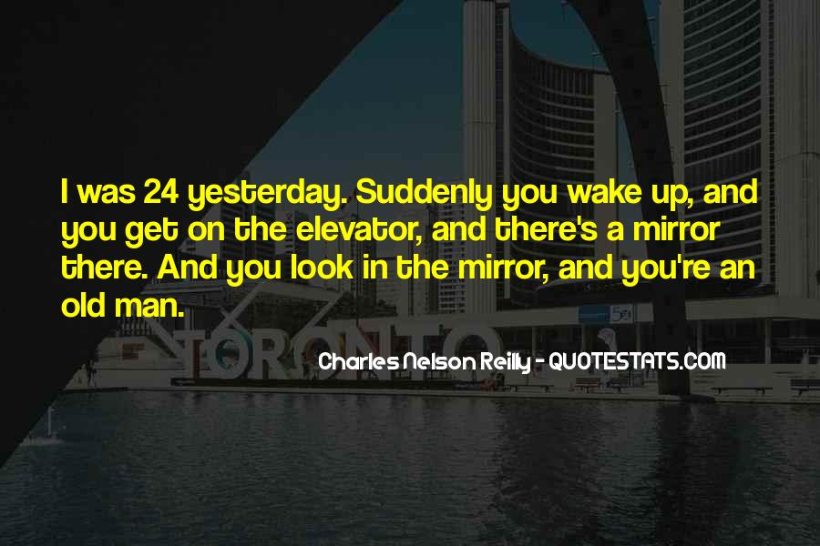 Sometimes I Look In The Mirror Quotes #11712