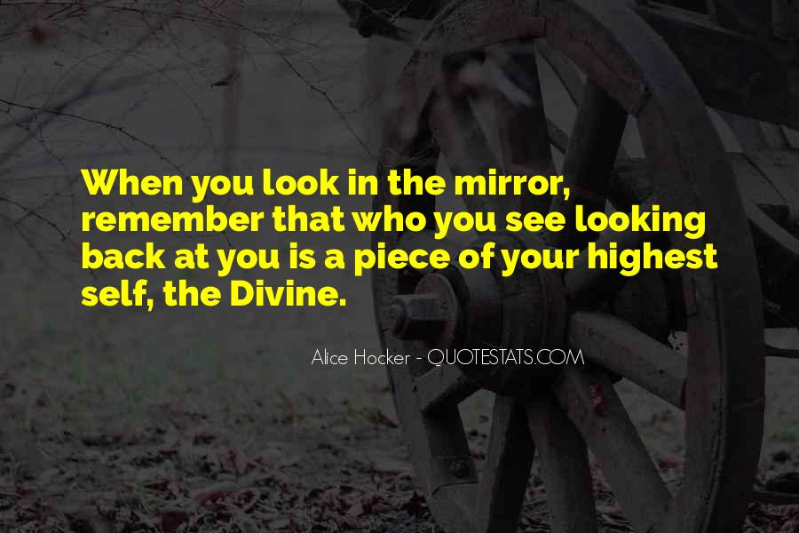 Sometimes I Look In The Mirror Quotes #51158