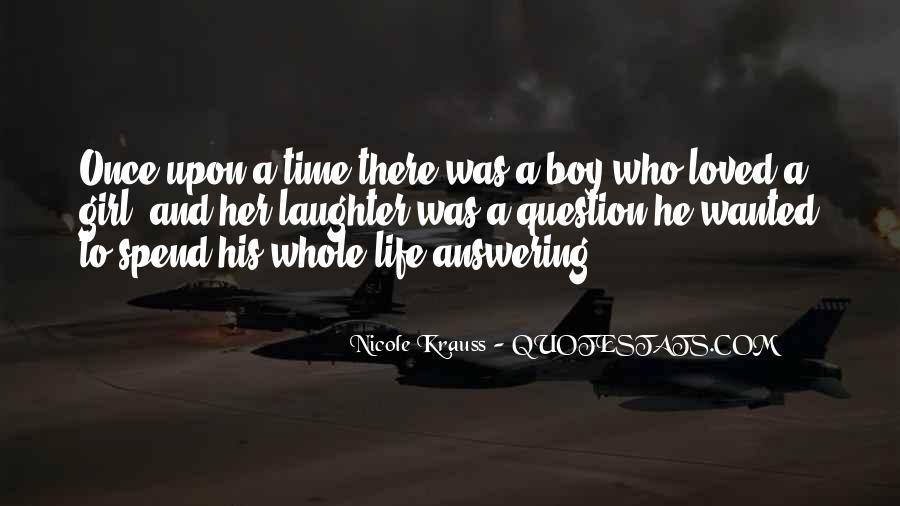 Sometimes I Wish I Was A Boy Quotes #279