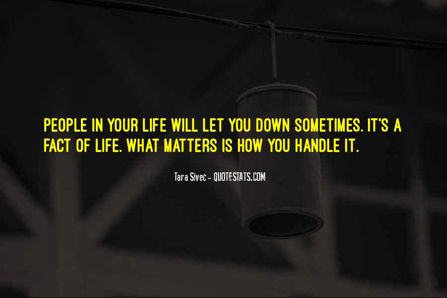 Sometimes In Your Life Quotes #150724