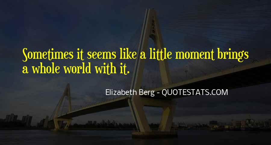 Sometimes It Seems Like Quotes #1619604