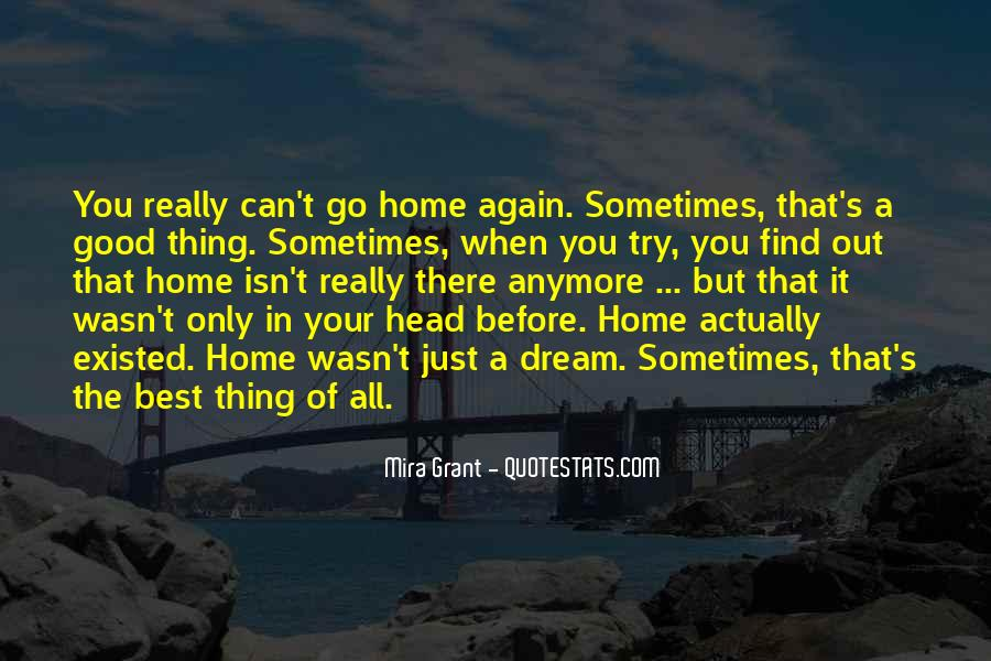 Sometimes It's Best Quotes #1055316