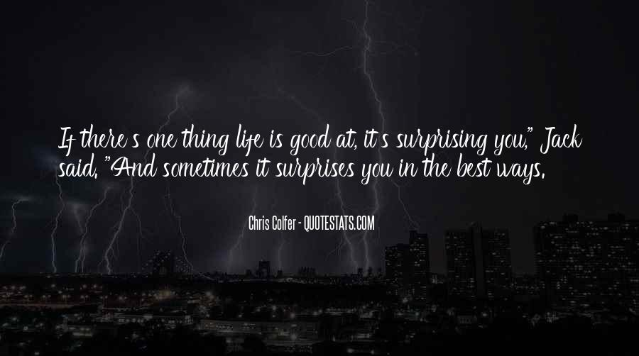 Sometimes It's Best Quotes #317669