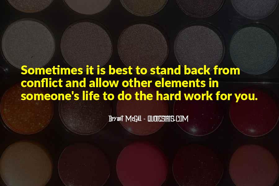 Sometimes It's Best Quotes #482320