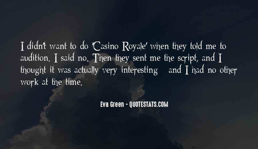 Quotes About Eva Green #1254140