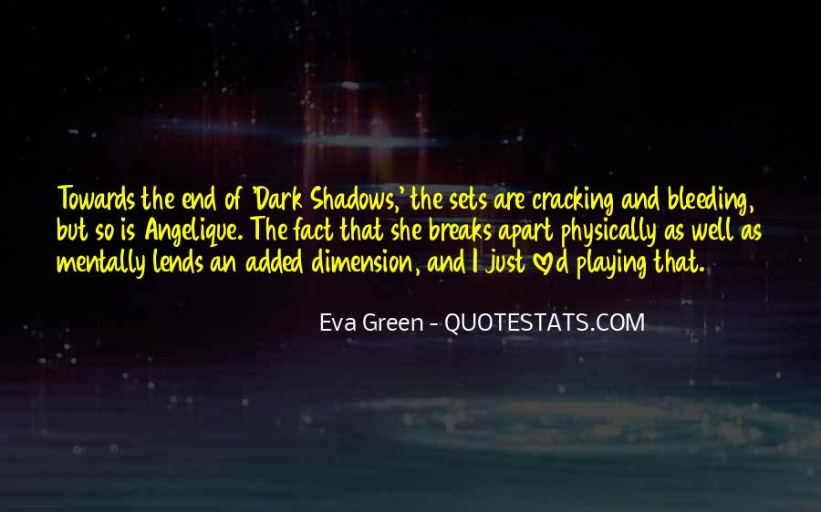 Quotes About Eva Green #1771507