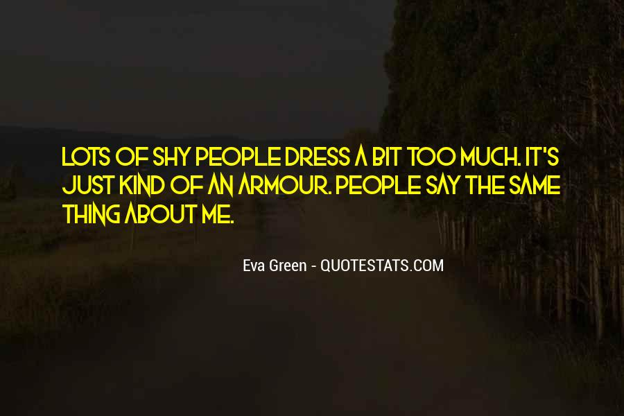 Quotes About Eva Green #1824839