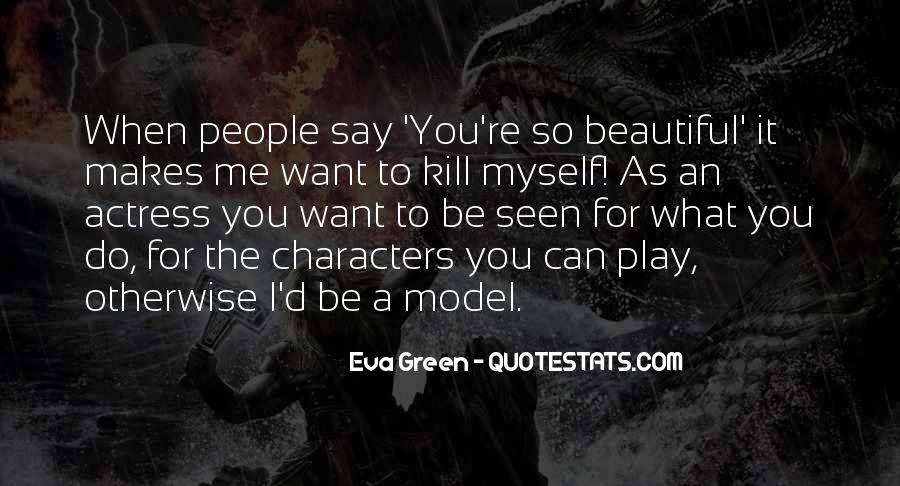 Quotes About Eva Green #28234