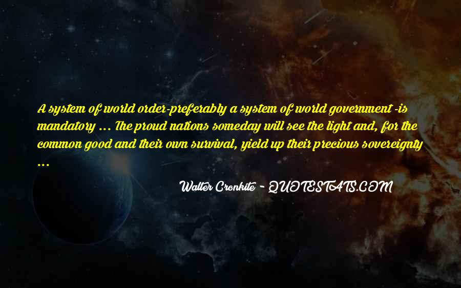 Quotes About Walter Cronkite #1012120