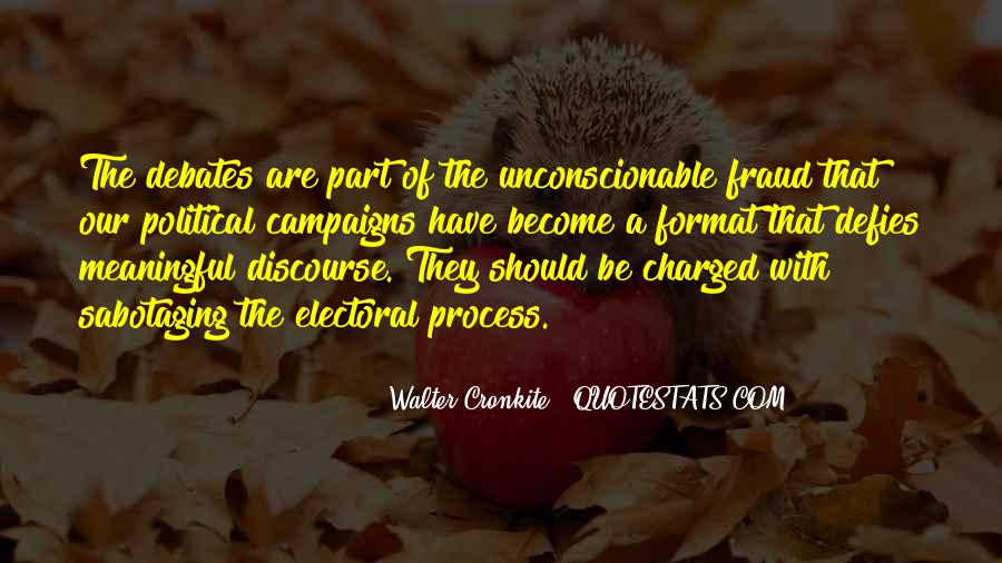 Quotes About Walter Cronkite #1164498