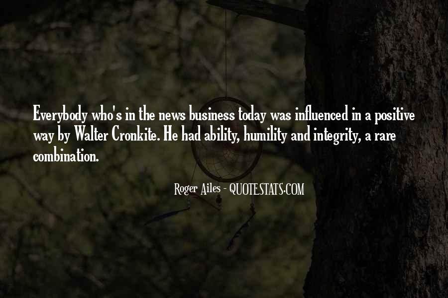 Quotes About Walter Cronkite #1520779