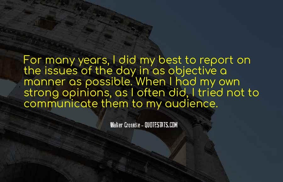 Quotes About Walter Cronkite #1635160