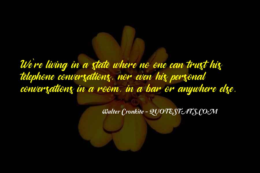 Quotes About Walter Cronkite #197750