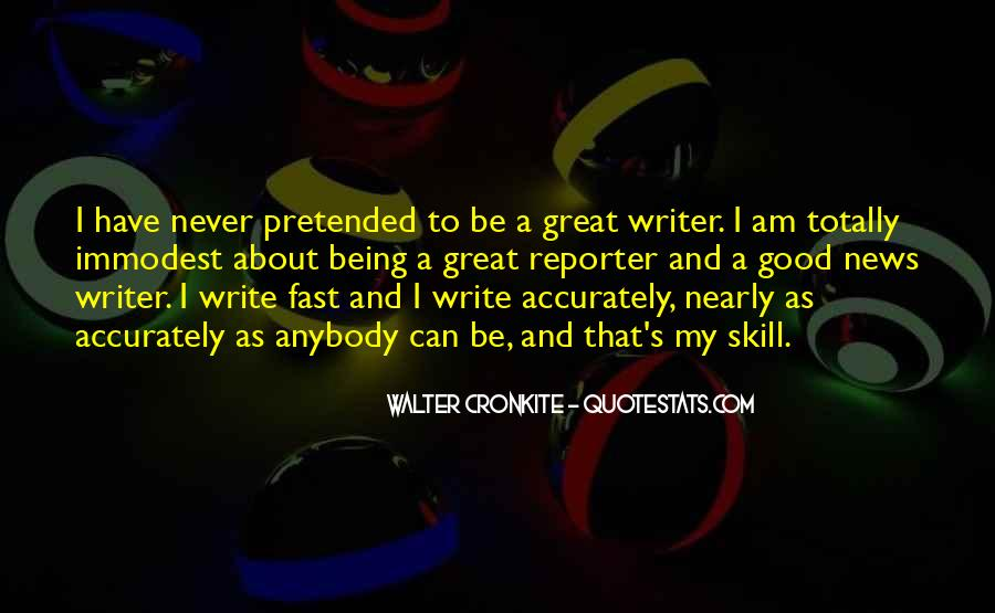 Quotes About Walter Cronkite #202782