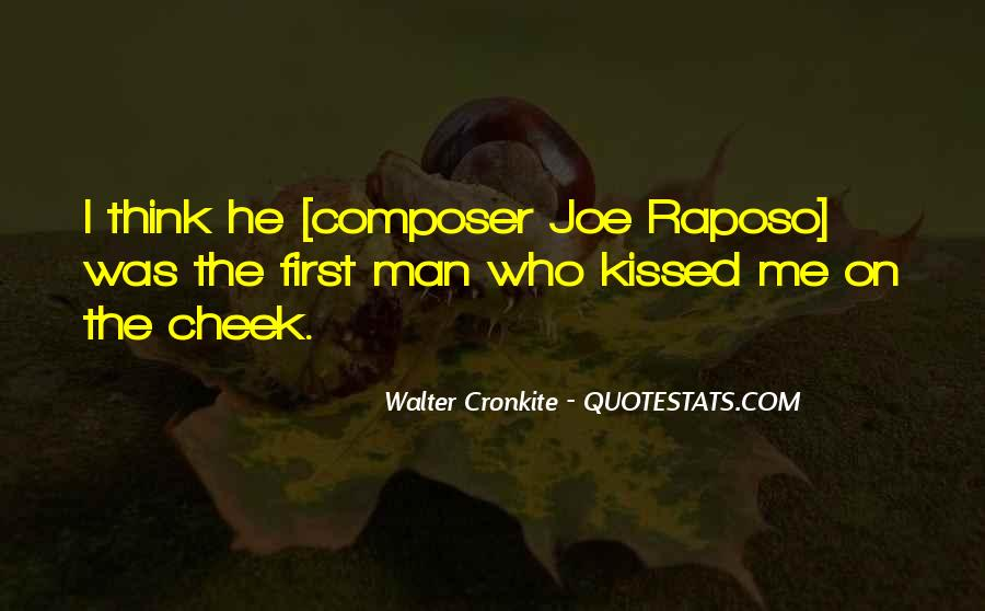 Quotes About Walter Cronkite #922572
