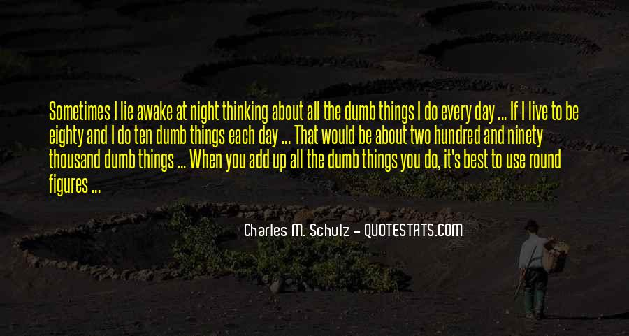 Sometimes The Best Things Quotes #1126180