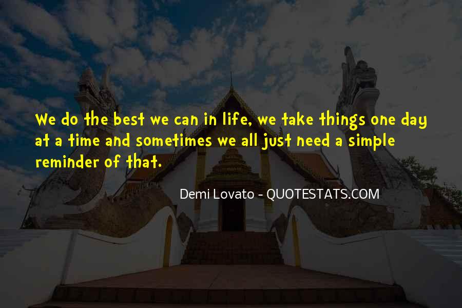 Sometimes The Best Things Quotes #1776326