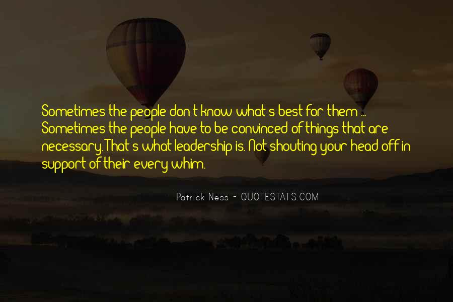 Sometimes The Best Things Quotes #287002