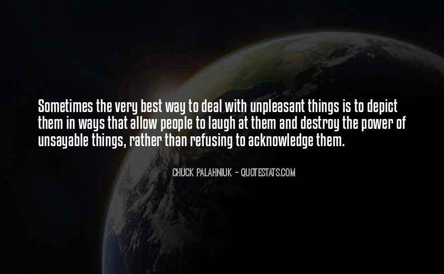 Sometimes The Best Things Quotes #973405