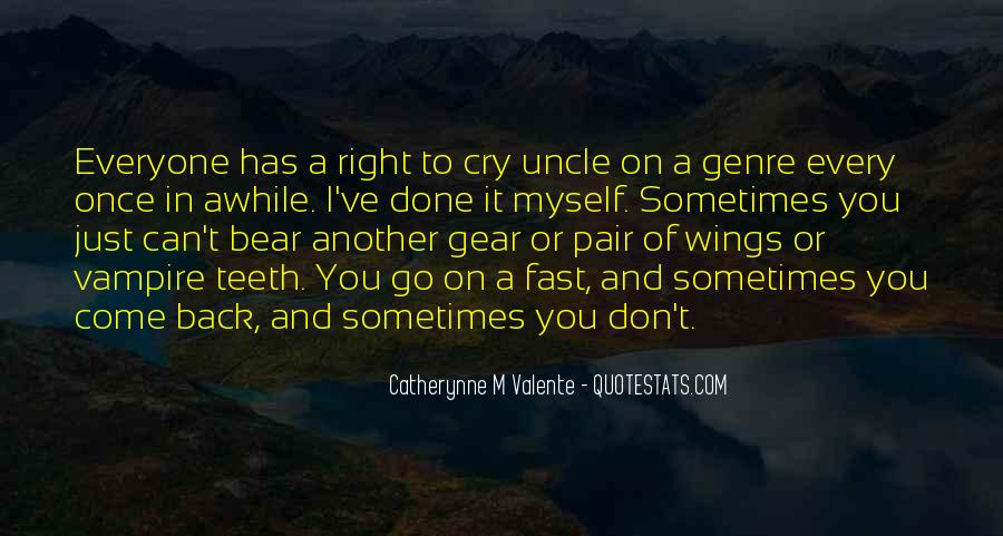 Sometimes You Can't Go Back Quotes #1363807