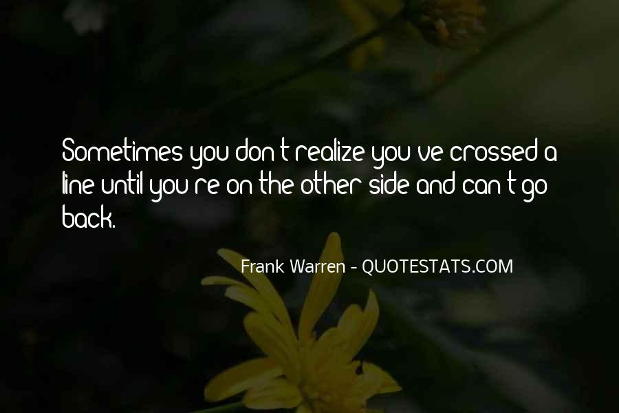 Sometimes You Can't Go Back Quotes #1620574