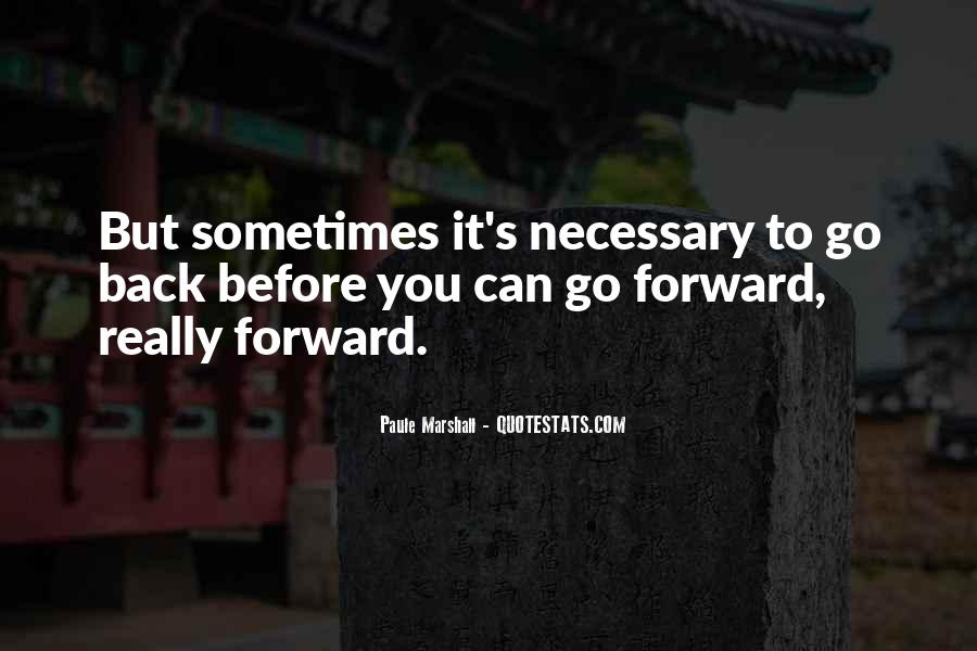 Sometimes You Can't Go Back Quotes #1856720