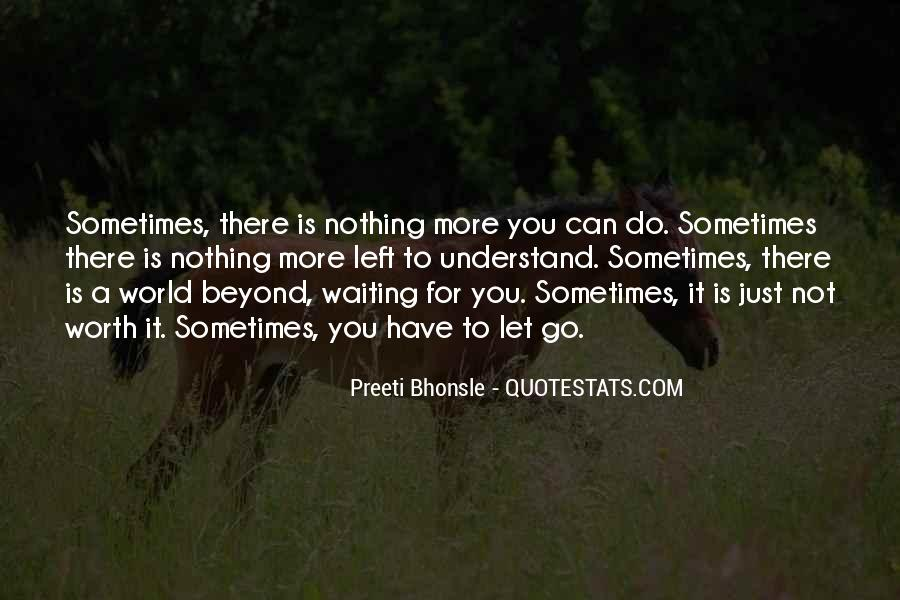 Sometimes You Can't Let Go Quotes #1338252