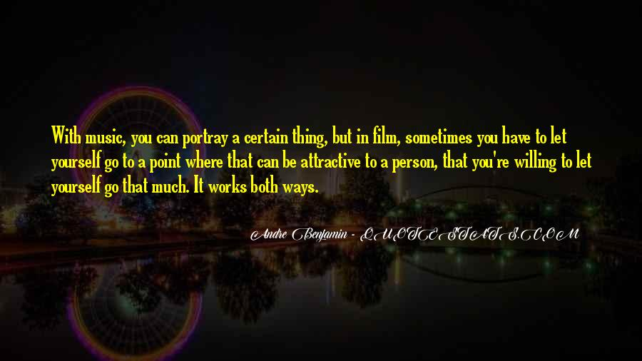 Sometimes You Can't Let Go Quotes #1468889