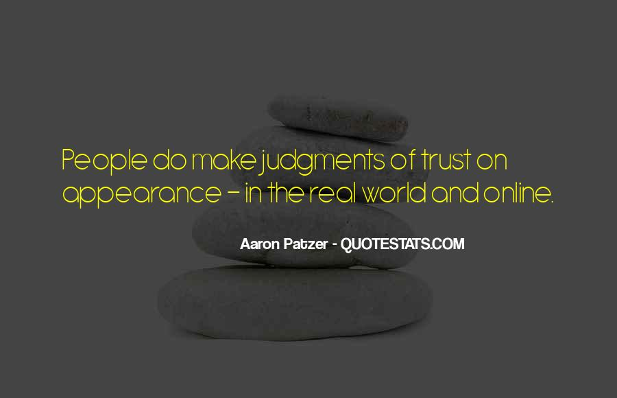 Sometimes You Just Have To Trust Quotes #3462