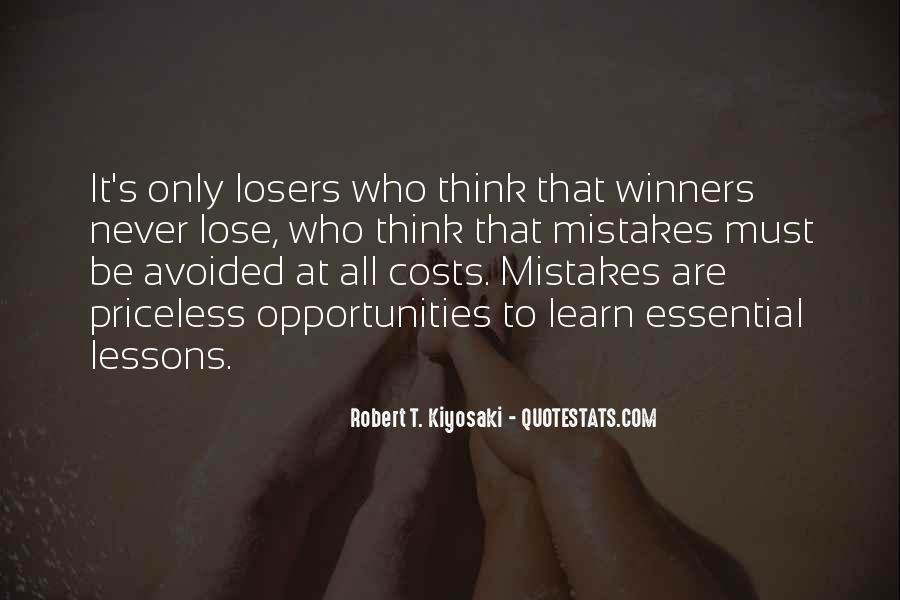 Sometimes You Lose Sometimes You Learn Quotes #441204