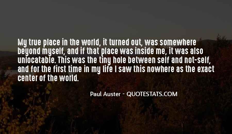Somewhere In The World Quotes #534347