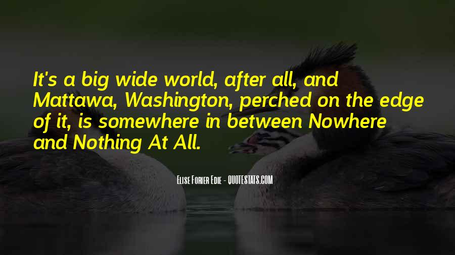 Somewhere In The World Quotes #545750
