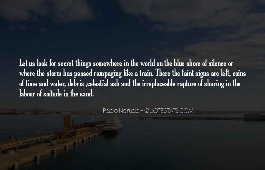 Somewhere In The World Quotes #592301