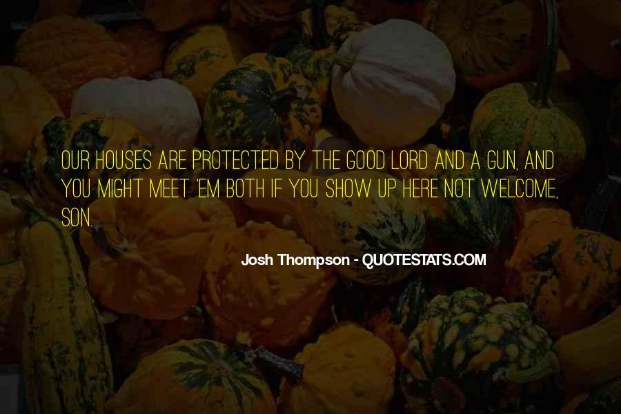 Son Of A Gun Quotes #1437473