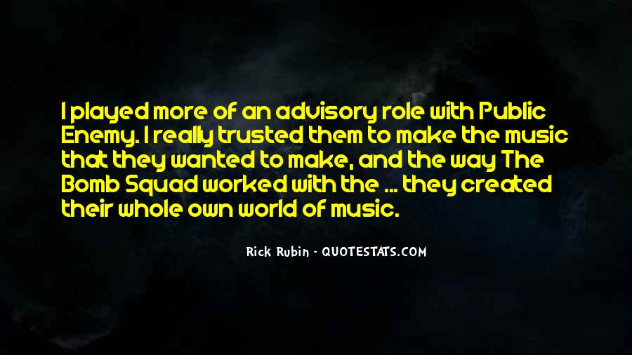 Quotes About Rick Rubin #1626299