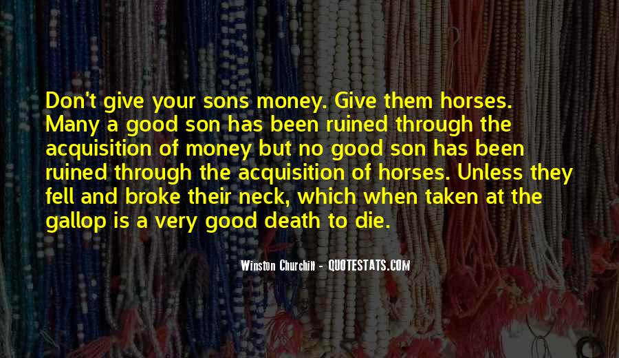Sons And Quotes #7286