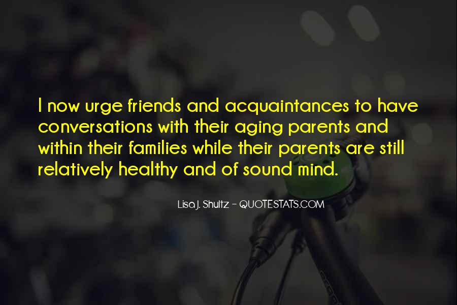 Quotes About Aging Parent #817140