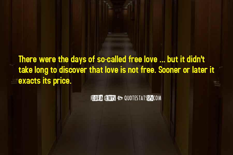 Sooner Or Later Love Quotes #1292987