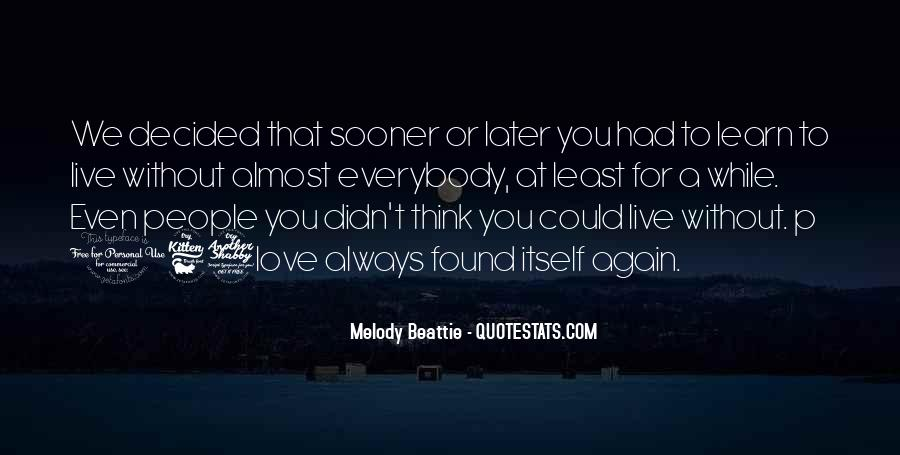 Sooner Or Later Love Quotes #134732
