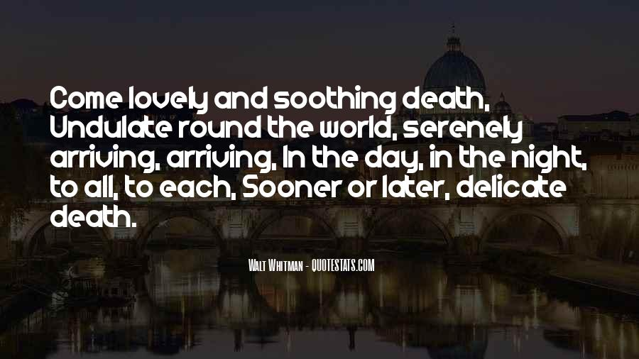Soothing Night Quotes #577747