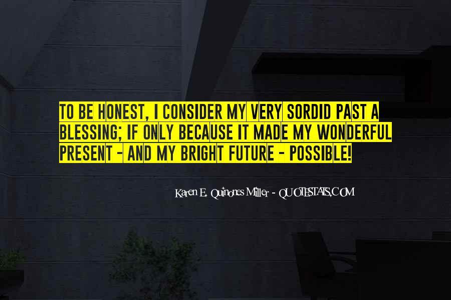 Sordid Past Quotes #1494645