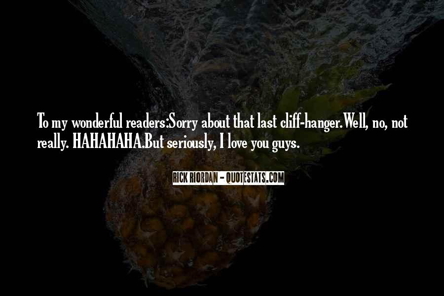 Sorry About Love Quotes #1156891