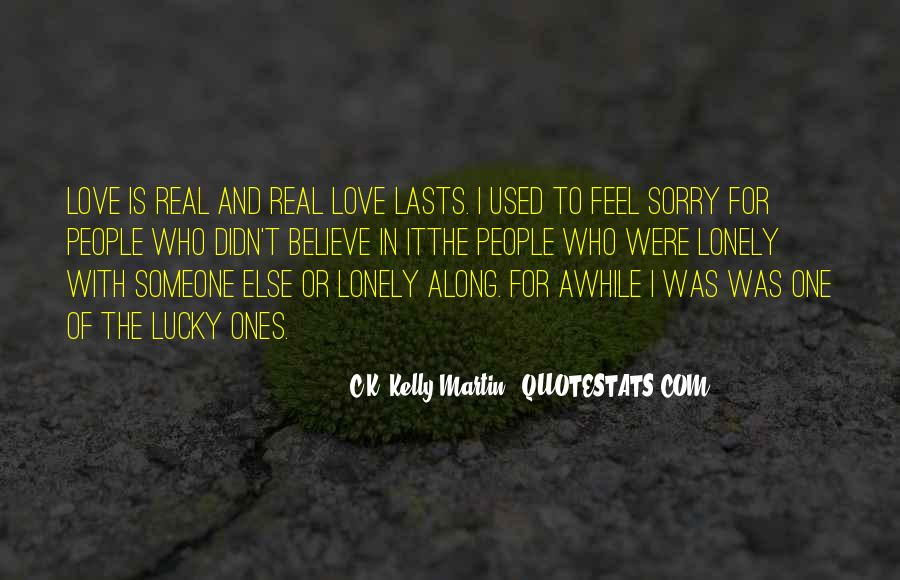 Sorry About Love Quotes #607188