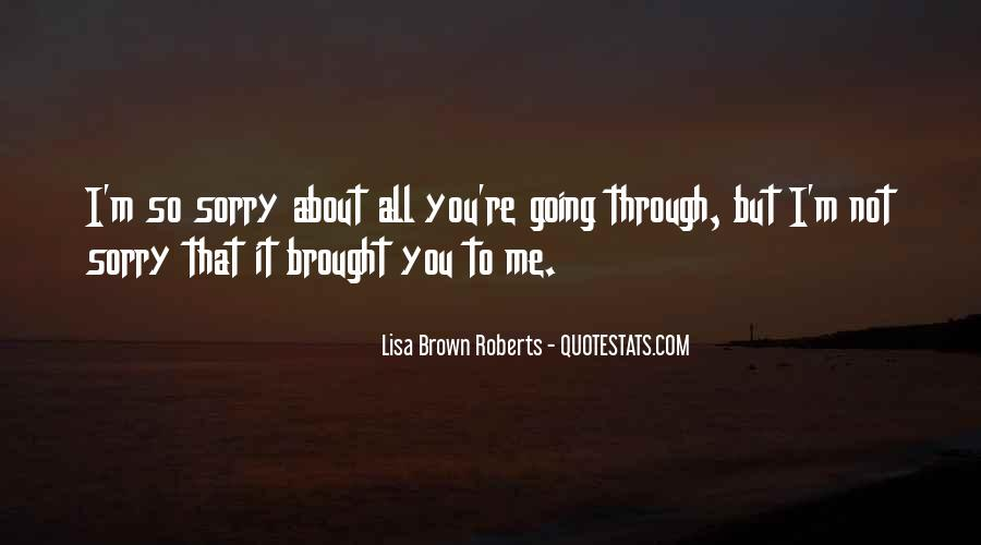 Sorry About Love Quotes #921655