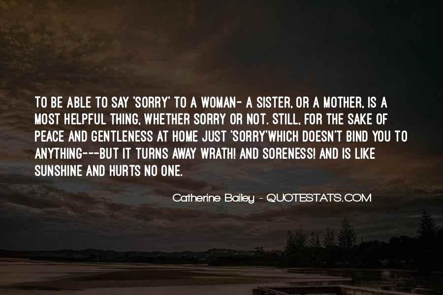 Sorry But Not Sorry Quotes #313670