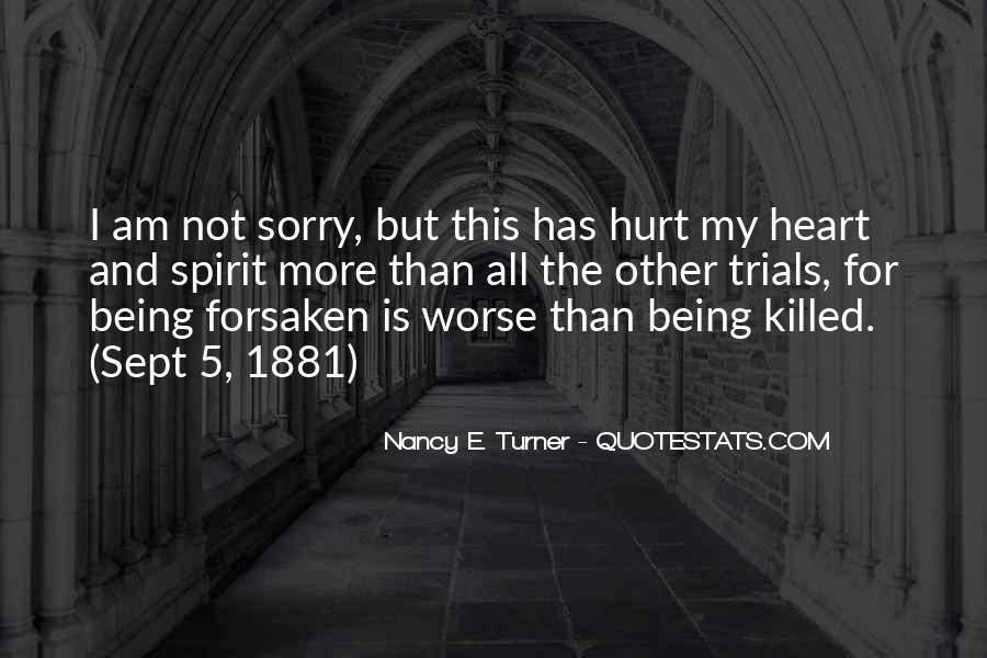 Sorry But Not Sorry Quotes #89778