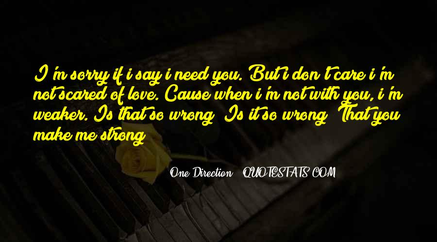 Sorry But Not Sorry Quotes #91081