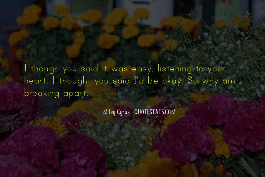 Quotes About Be Okay #115301