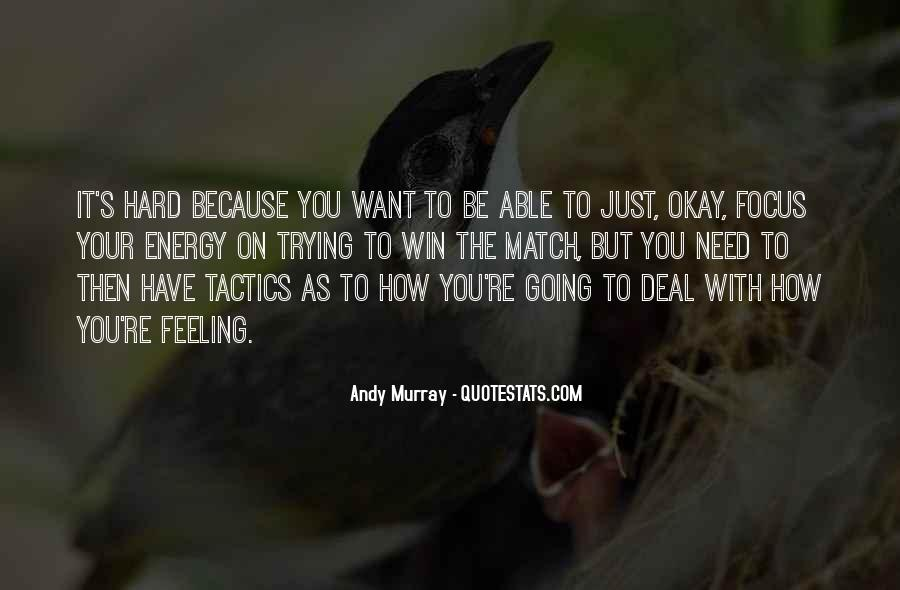 Quotes About Be Okay #79274